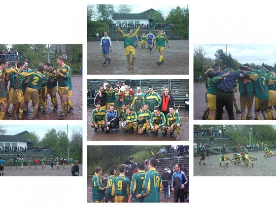 Aufstieg 1. Mannschaft 2002